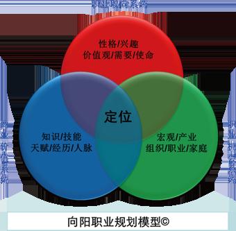 向阳职业规划模型图